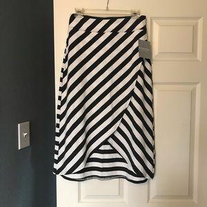 Athleta striped skirt